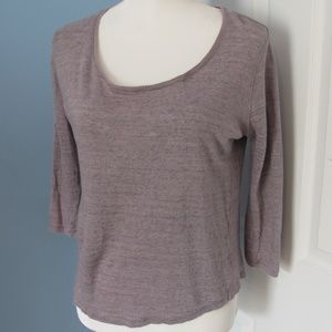 Poetry top made of linen Size - 10